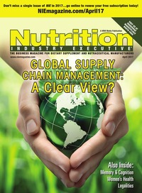 online magazine - Nutrition Industry Executive April 2017
