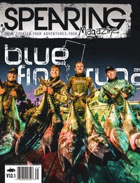 online magazine - Spearing Magazine V10.1 The California Blue Fin Tuna Issue