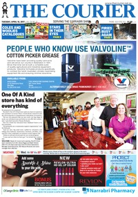 online magazine - The Courier and Wee Waa News, Tuesday, April 18, 2017