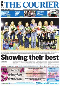 online magazine - The Courier and Wee Waa News, Tuesday, May 9, 2017