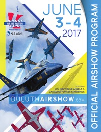 online magazine - Duluth Air & Aviation Expo Souvenir Program