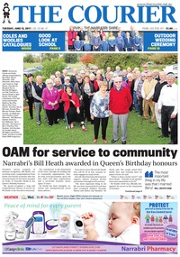 online magazine - The Courier and Wee Waa News, June 13, 2017