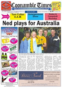 online magazine - Coonamble Times June 15, 2017