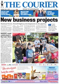 online magazine - The Courier and Wee Waa News, July 11, 2017