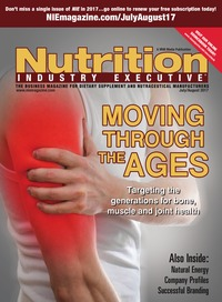 online magazine - Nutrition Industry Executive July/August 2017