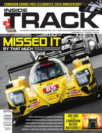online magazine - Inside Track Motorsport News • Vol 21, Iss 06 • Sept. 2017
