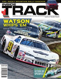 online magazine - Inside Track Motorsport News • Vol 21, Iss 05 • Aug. 2017