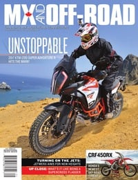 online magazine - MX And Off-Road • Vol. 16, Iss. 01 • Spring 2017