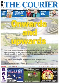 online magazine - The Courier, August 3, 2017