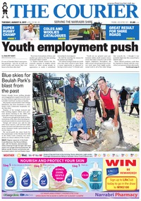 online magazine - The Courier and Wee Waa News, August 8, 2017
