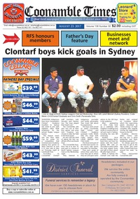online magazine - Coonamble Times August 23, 2017