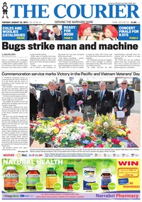 online magazine - The Courier and Wee Waa News, August 22, 2017