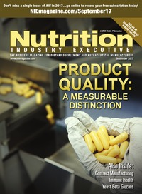 online magazine - Nutrition Industry Executive September 2017