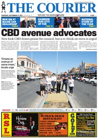 online magazine - The Courier, September 21, 2017