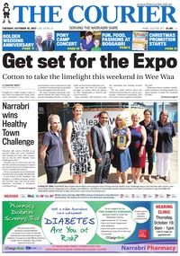 online magazine - The Courier and Wee Waa News, October 10, 2017