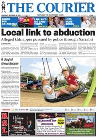 online magazine - The Courier, October 12, 2017