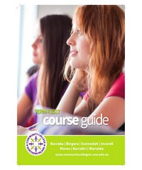 online magazine - Community Colleges Northern Inland Term 4 Course Guide