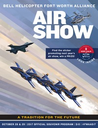 online magazine - 2017 Fort Worth Alliance Air Show Program
