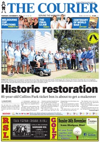 online magazine - The Courier, November 9, 2017