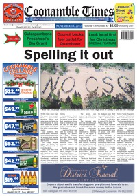 online magazine - Coonamble Times November 15, 2017