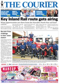 online magazine - The Courier and Wee Waa News, November 28, 2017