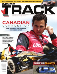 online magazine - Inside Track Motorsport News • Vol. 21, Iss. 09 • Dec. 2017