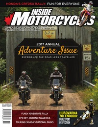 online magazine - Inside Motorcycles • Vol. 20, Iss. 07 • Nov. 2017