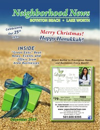 online magazine - Neighborhood News- December 2017 Issue