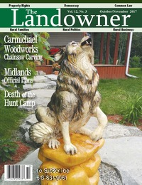 online magazine - The Landowner Magazine - Oct. / Nov. 2017 Volume 12 Number 3
