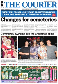 online magazine - The Courier and Wee Waa News, Tuesday, December 12, 2017