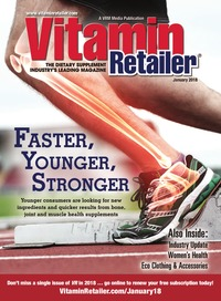 online magazine - Vitamin Retailer January 2018