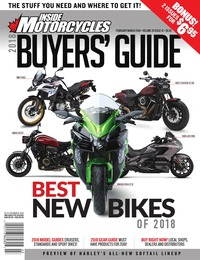 online magazine - Inside Motorcycles • Vol. 20, Iss. 10 • Feb./Mar. 2018