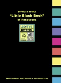 online magazine - Little Black Book of Resources SRA-50+Plus FYI