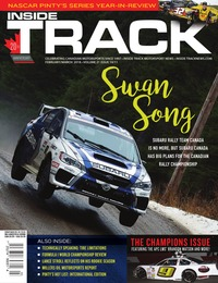 online magazine - Inside Track • Vol. 21, Iss. 10/11 • Feb./Mar. 2018