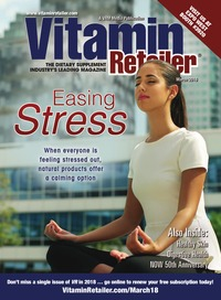 online magazine - Vitamin Retailer March 2018
