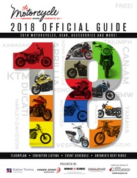 online magazine - 2018 Toronto Motorcycle Show Guide