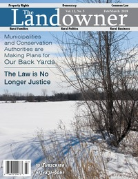 online magazine - The Landowner Magazine - Feb. / March 2018 Volume 12 Number 5