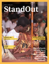 online magazine - StandOut Journal - April 2018