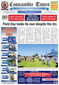 online magazine - Coonamble Times, 28 March 2018