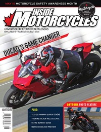 online magazine - Inside Motorcycles • Vol. 21, Iss. 02 • May/June 2018