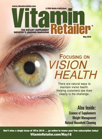 online magazine - Vitamin Retailer May 2018