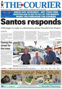 online magazine - The Courier and Wee Waa News, April 24, 2018