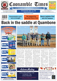 online magazine - Coonamble Times, 16  May 2018