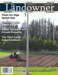 online magazine - The Landowner Magazine - April / May 2018 Volume 12 Number 6