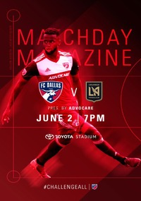 online magazine - Gameday Magazine vs LAFC
