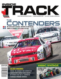 online magazine - Inside Track Motorsport News • Vol. 22, Iss. 03 • July 2018