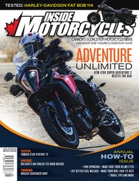 online magazine - Inside Motorcycles • Vol. 21, Iss. 03/04 • July/August 2018 COMP