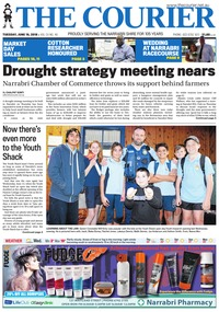online magazine - The Courier and Wee Waa News, June 19, 2018