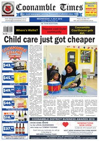 online magazine - Coonamble Times, 4 July 2018