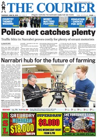 online magazine - The Courier, June 28, 2018